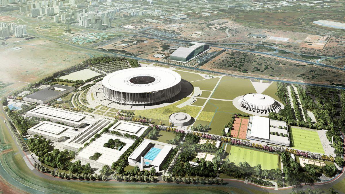 Concurso Nacional Requalificação do Entorno Mané Garrincha Arena BSB de Brasília/DF